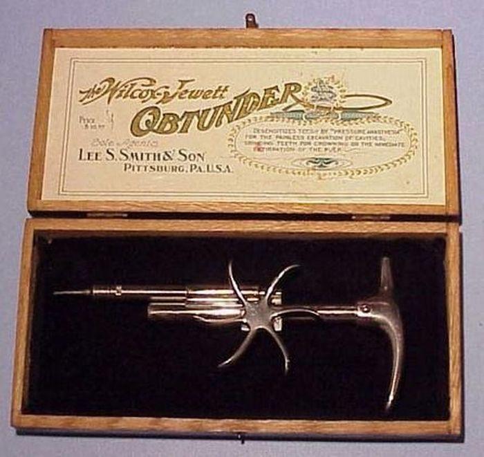 Инструменты стоматологов прошлого (15 фото)