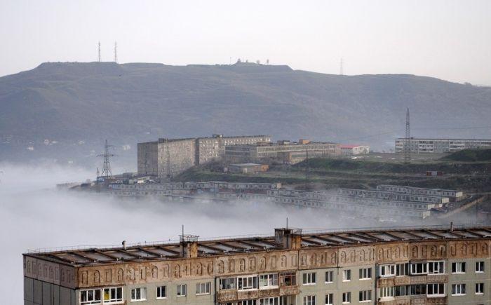 Туман Владивостока (32 фото)