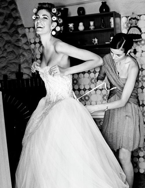 Тощую невесту в