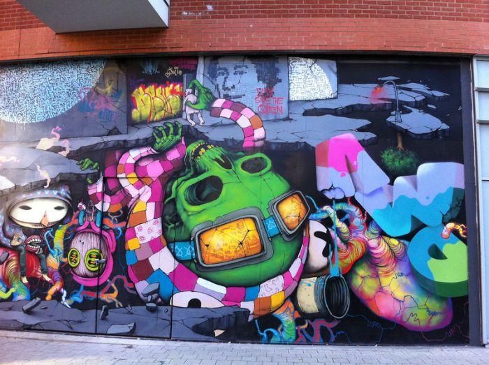 Граффити Лондона (19 фото)