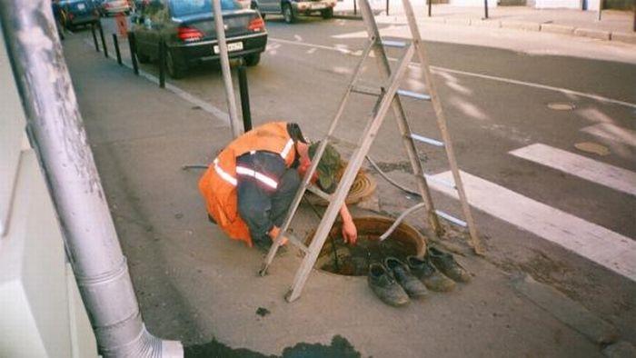 Трудовые будни работников ЖКХ (33 фото)