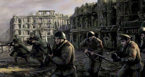 Передовая - в этой войне мы должны победить!