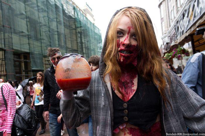Шествие зомби (35 фото)