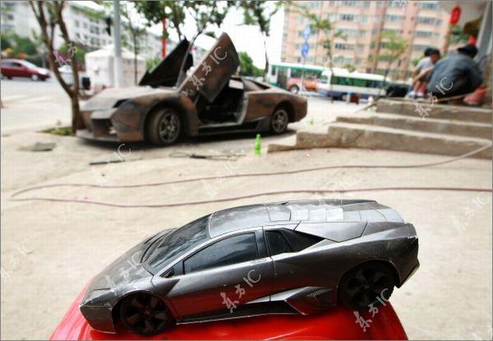 Lamborghini Reventon своими руками (8 фото)