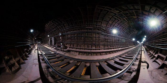 Панорамные фотографии метро (43 фото)