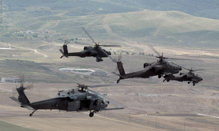 Военные вертолеты (99 фото)