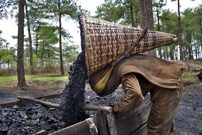 Дети на угольных шахтах (28 фото)