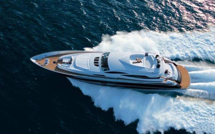Шикарные яхты – морские красавицы (33 Фото)