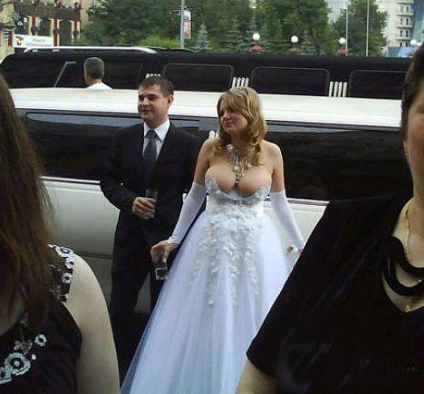 Re: Необычные, шокирующие или забавные свадебные фото.