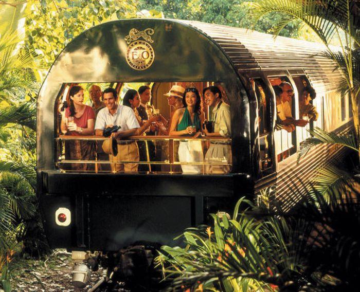 Поезд-люкс (14 фото)