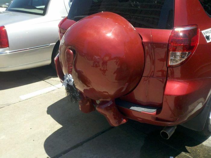 Машина-бегемот (4 фото)