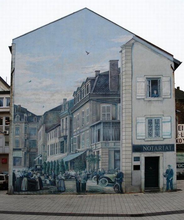 Граффити в рекламе (48 фото)