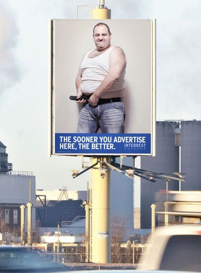 Оригинальный рекламный ход (4 фото)