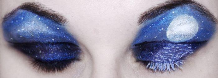Удивительный макияж (13 фото)