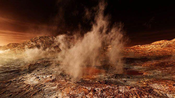 Нереально красивые фотографии Марса (28 Фото)