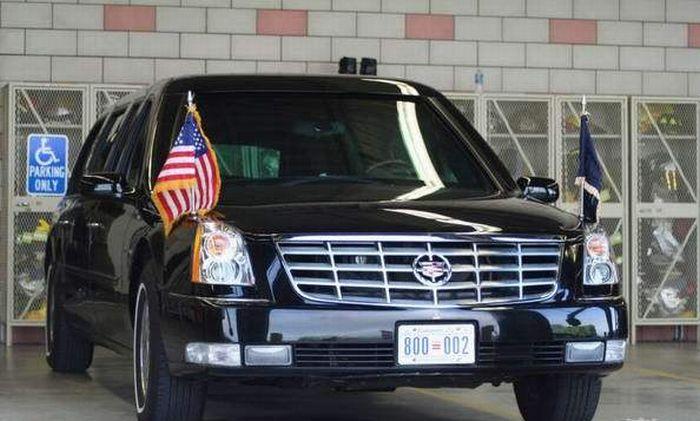Кадиллак Барака Обамы (7 фото)