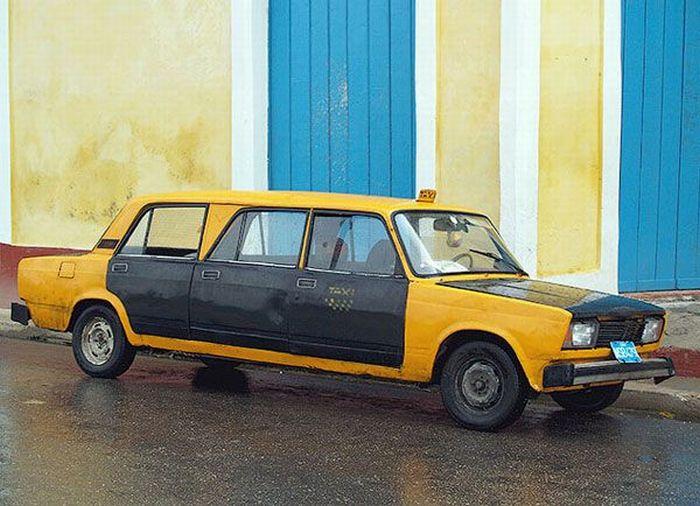 Наши авто на Кубе (24 фото)
