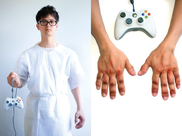 Травмы  геймеров (9 фото)