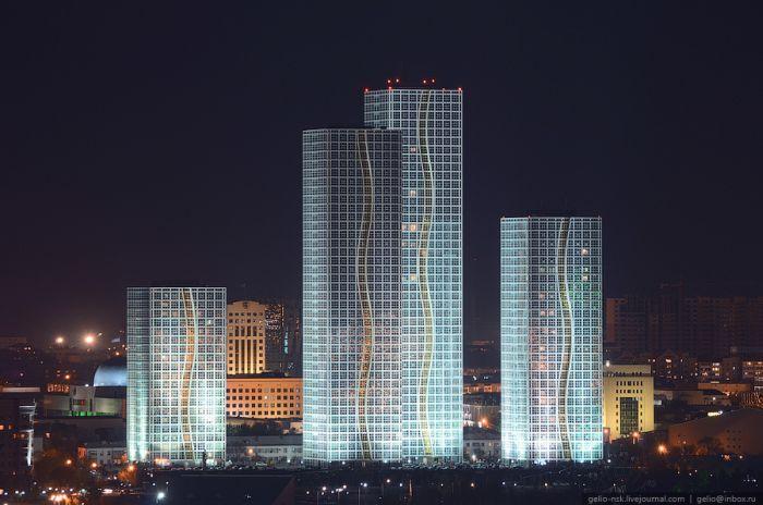 Астана с высоты птичьего полета (44 фото)