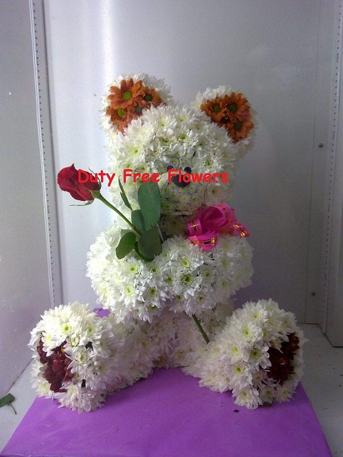 Игрушки из цветов от Duty Free Flowers (18 фото)