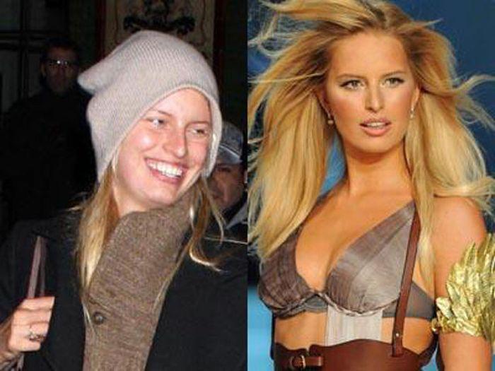 Модели без макияжа (11 фото)