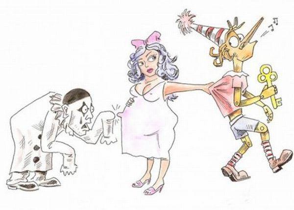 Смешные карикатуры (30 фото)
