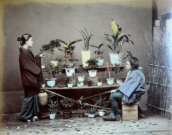 Старая Япония (24 фото)