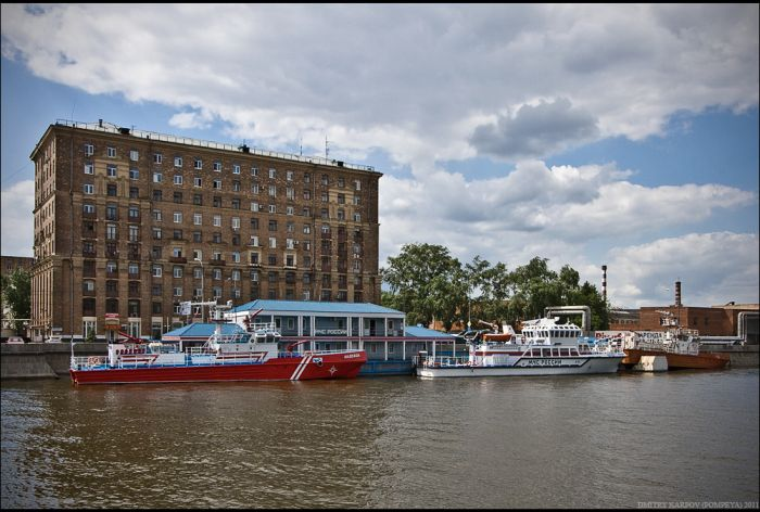 Прогулка по Москве-реке (43 фото)