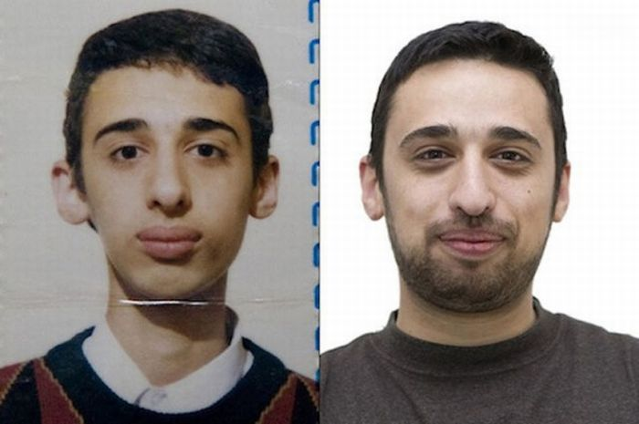 Фотография в паспорте и реальные лица (11 фото)