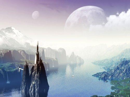Сногсшибательные инопланетные пейзажи (14 Фото)