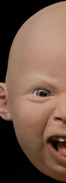 Реалистичная маска ребенка (7 фото)