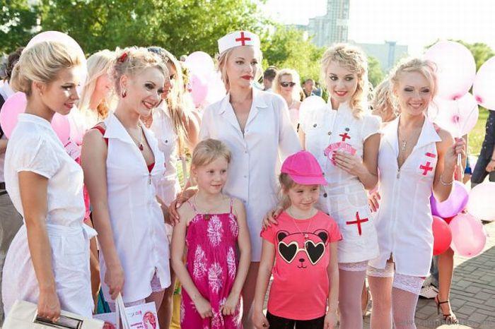 Парад блондинок  в Минске (36 фото)