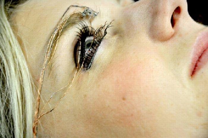 Необычный макияж (5 фото)