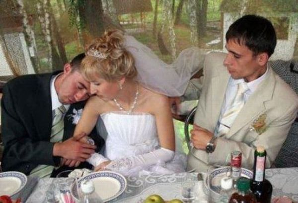 Нелепые свадебные снимки (50 фото)