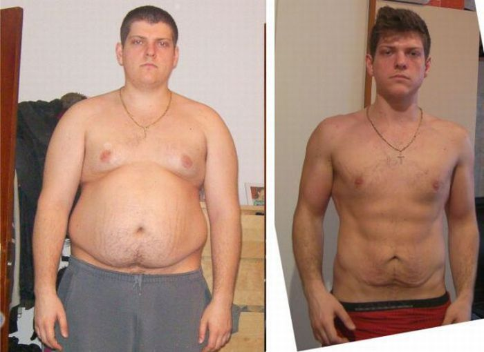 Удивительная история потери веса (16 фото)
