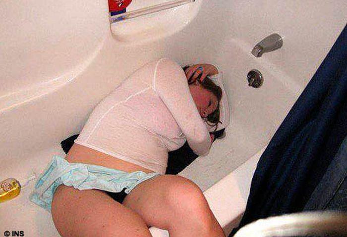 фото пьяных голых мам