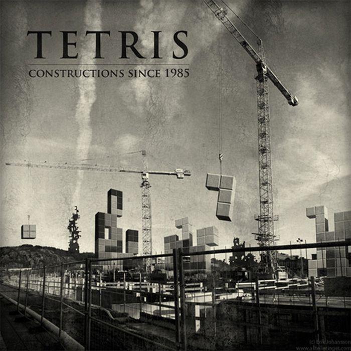 Тетрис как стиль жизни (56 фото)