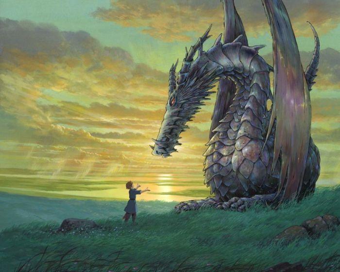 Сказочные драконы из мира фэнтези (24 Фото)