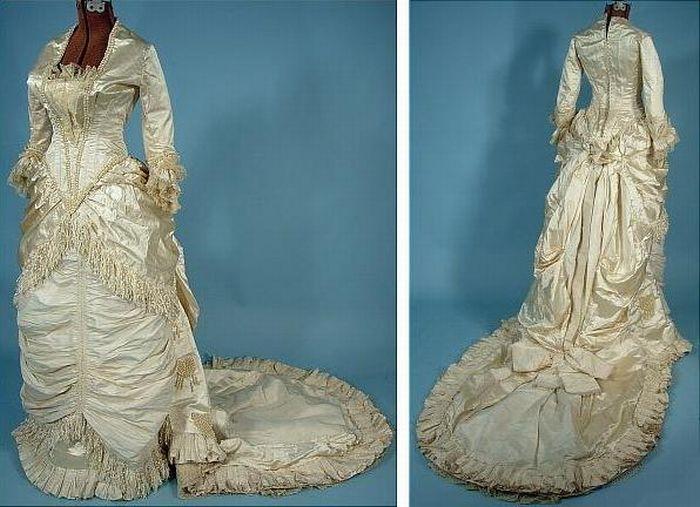 Старинные свадебные платья (39 фото)