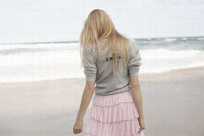 Очень красивые девушки спиной фото