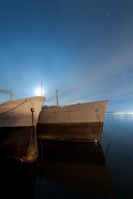 Кладбище военных кораблей (46 фото)