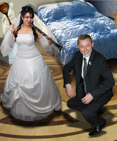 Свадебный фотошоп (16 фото)