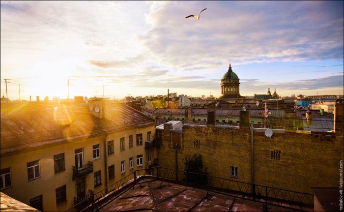 Крыши Питера. Часть 2 (48 фото)