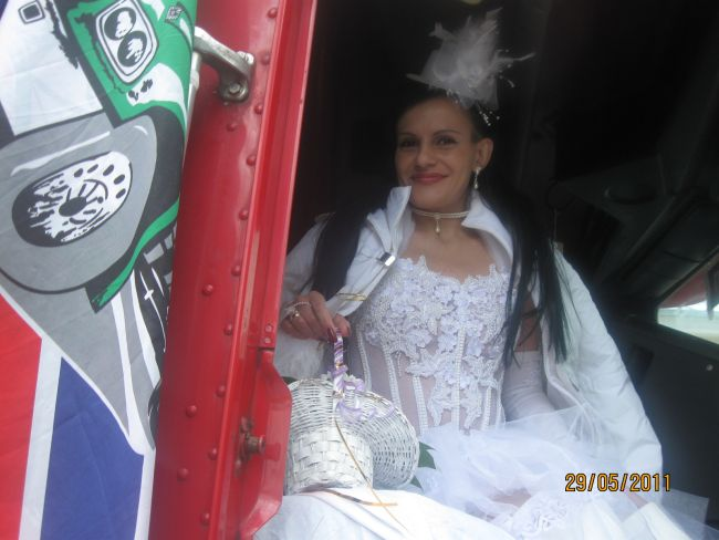 Свадьба дальнобойщика (25 фото)