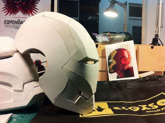 Очень реалистичный костюм Iron