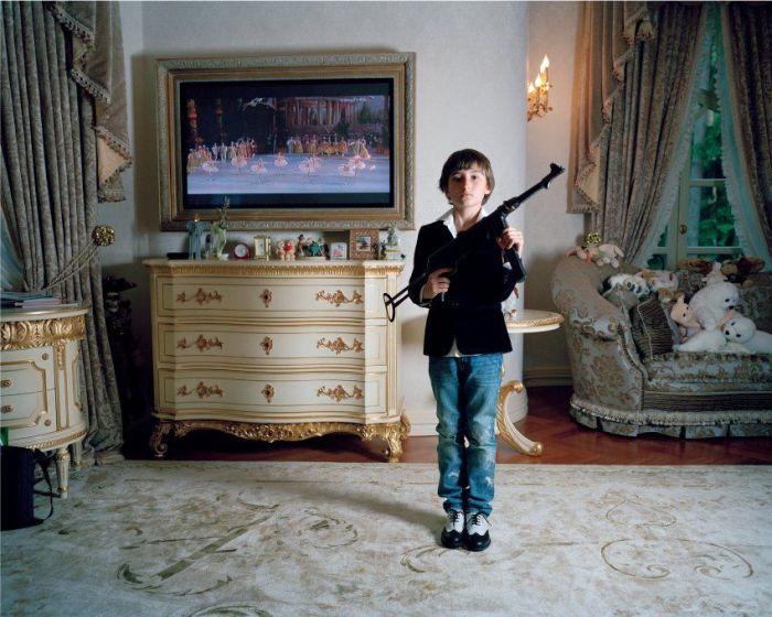 Дети российской элиты в фотографиях (8 фото + текст)