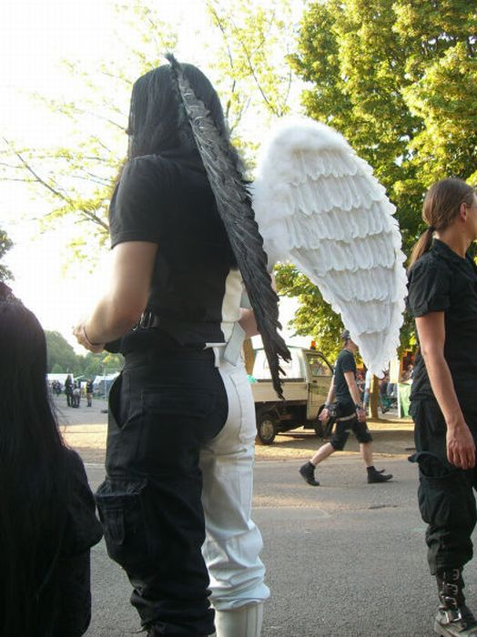 Фестиваль готов Wave-Gotik-Treffen Festival в Германии (46 фото)
