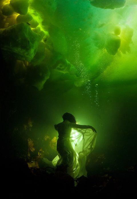 Фотосессия в Белом море (40 фото)