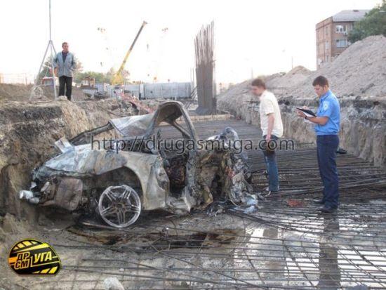 Сумасшедшая авария в Киеве (55 фото)