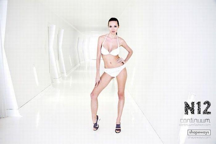 Первый в мире 3D купальник (7 фото)